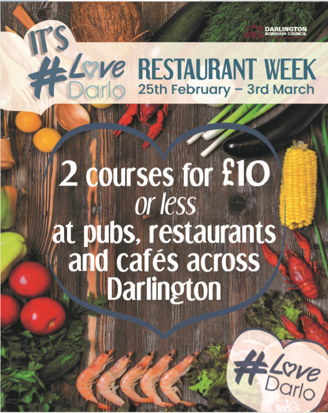 Restaurant Week Returns to Darlington!